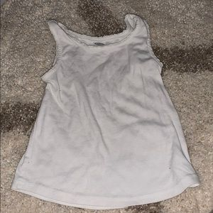 Old Navy white tank top 4T
